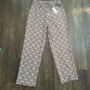 Easywear Chico's Mixed Mosaic Slim New Cairo Pant